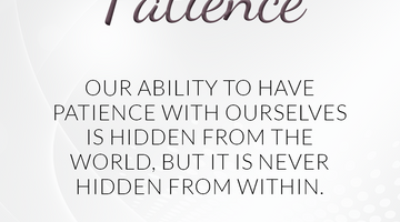 Defining Thoughts - Day Fourteen - Patience