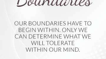 Defining Thoughts - Day 16 - Boundaries