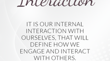 Defining Thoughts - Day Seventeen - Interaction