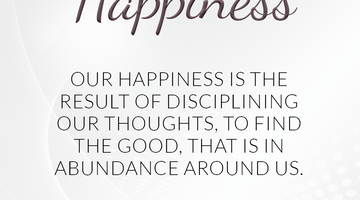 Defining Thoughts - Day Twenty-One - Happiness