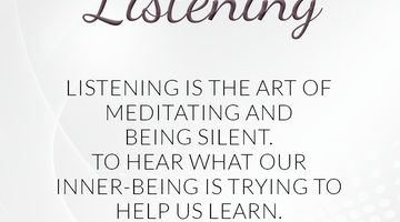 Defining Thoughts - Day Twenty-Six - Listening