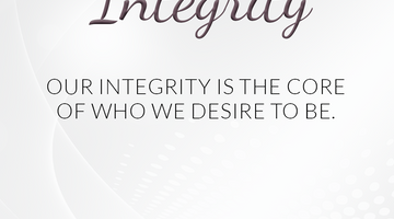 Defining Thoughts - Day Twenty-Seven - Integrity