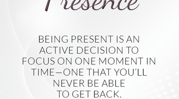 Defining Thoughts - Day Twenty-Eight - Presence
