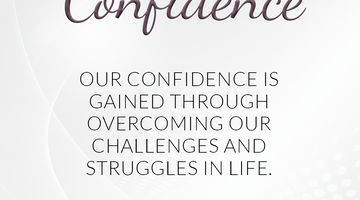 Defining Thoughts - Day Thirty - Confidence