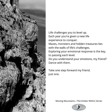 Black and white photo of rugged mountain wall.