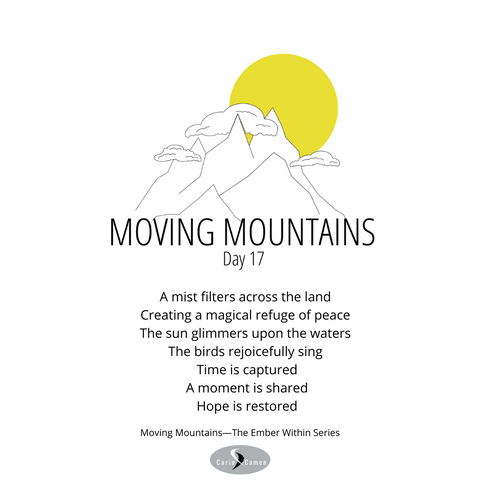 Moving Mountains day seventeen.