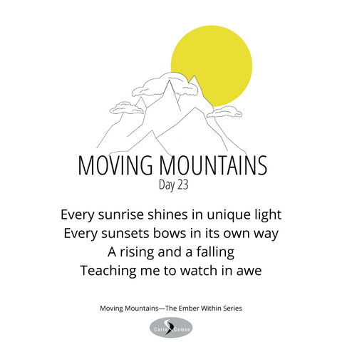 Moving Mountains day 23.