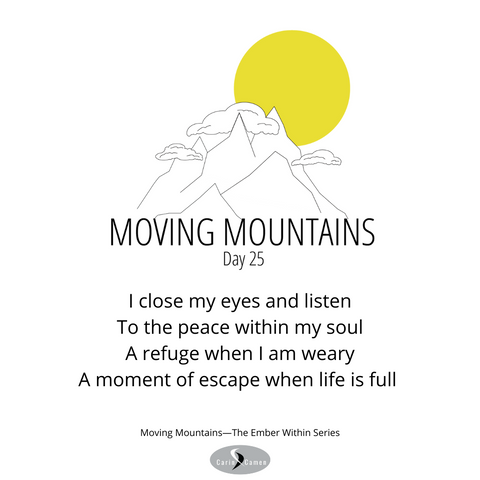 Moving Mountains day 25.
