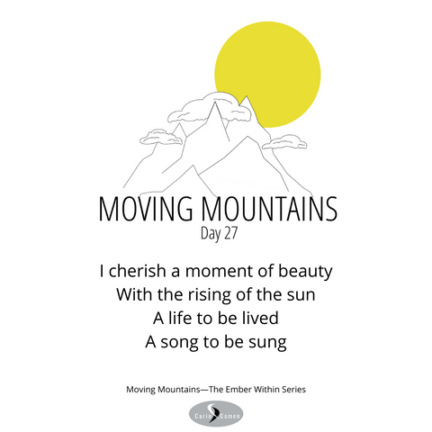 Moving Mountains day 27.