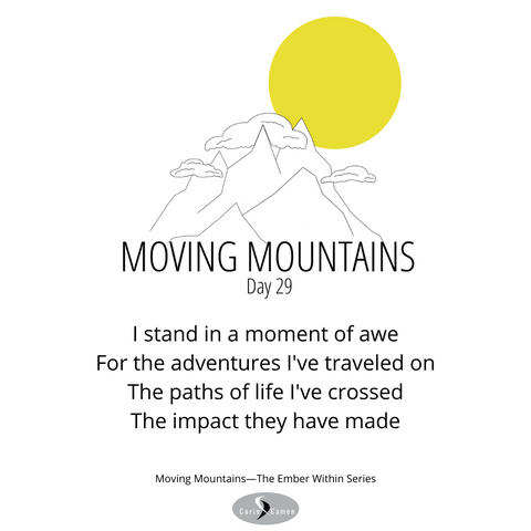 Moving Mountains day 29.