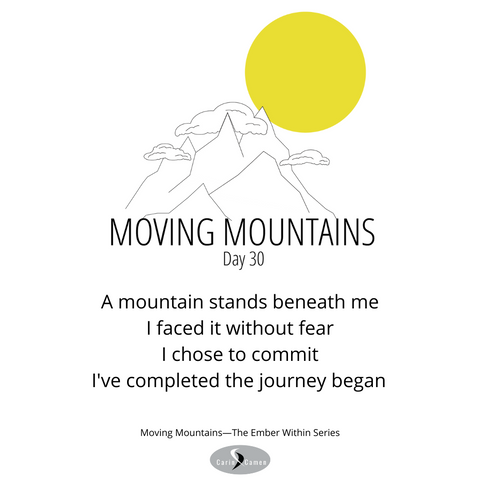 Moving Mountains day 30.