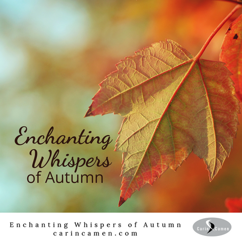 Enchanting Whispers of Autumn. Fall leaf.
