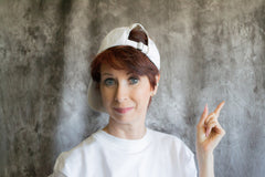 "Photo of Carin from her ""Hats that I Wear"" training series."