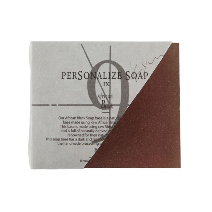 PERSONALIZE SOAP Ⅸ  African Black