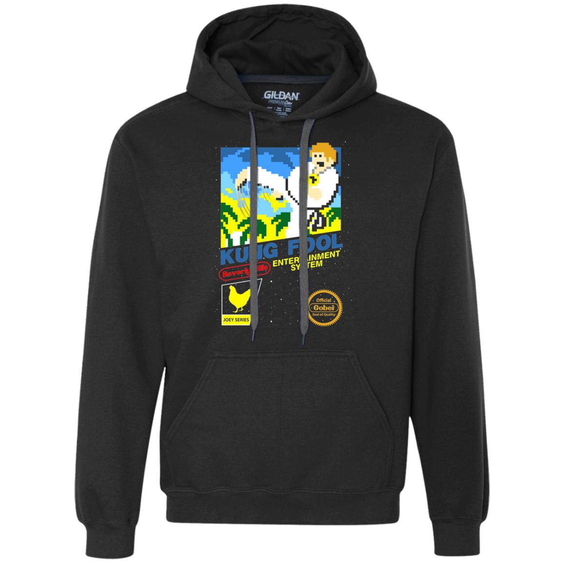 Chris Farley Kung Fool Premium Fleece Hoodie