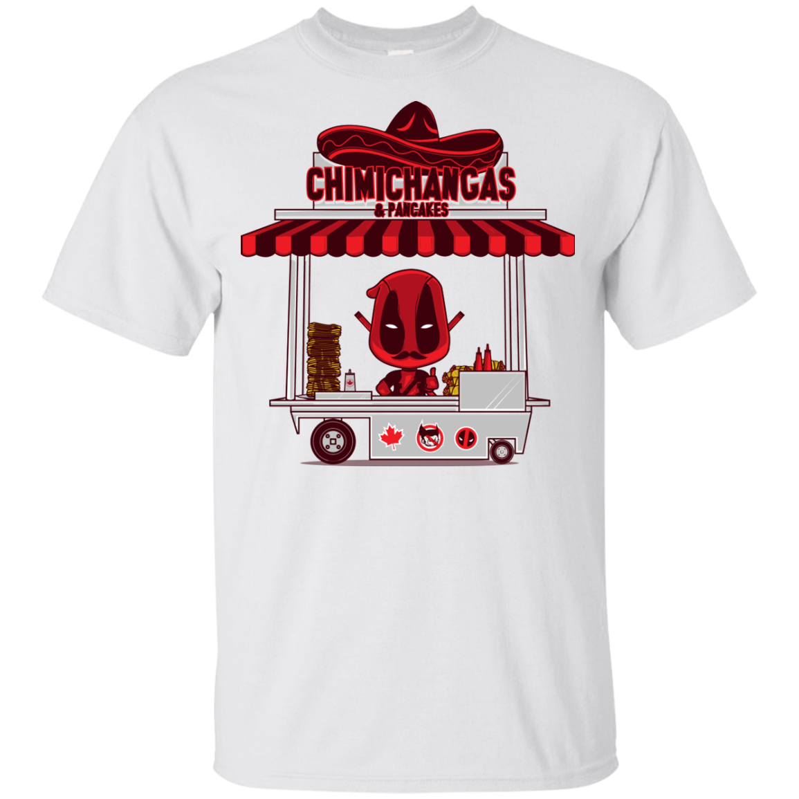 CHIMICHANGAS   PANCAKES Youth T Shirt