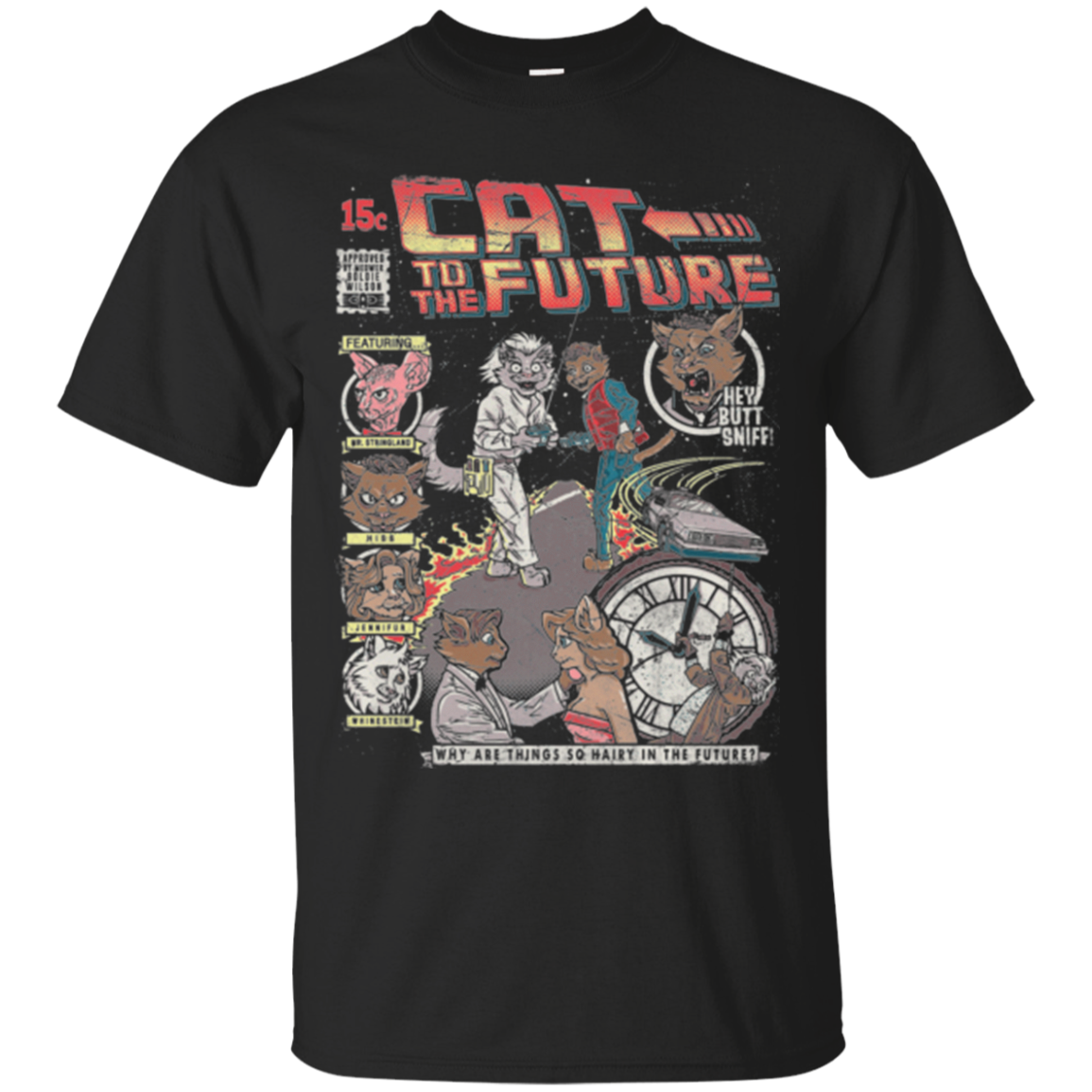 CAT TO THE FUTURE T Shirt
