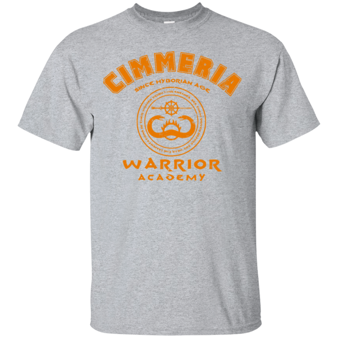 Cimmeria Warrior Academy T Shirt