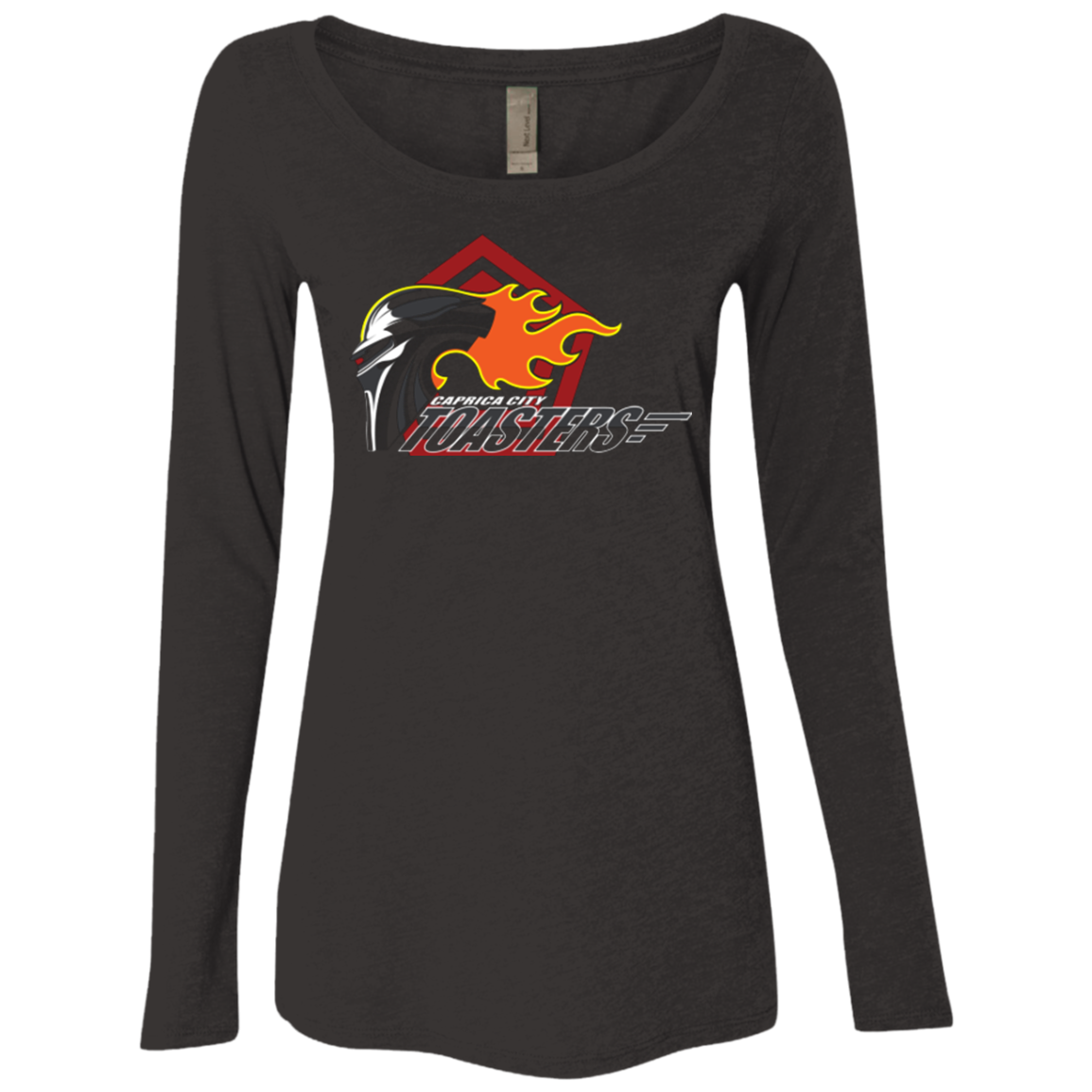 Caprica City Toasters Women s Triblend Long Sleeve Shirt