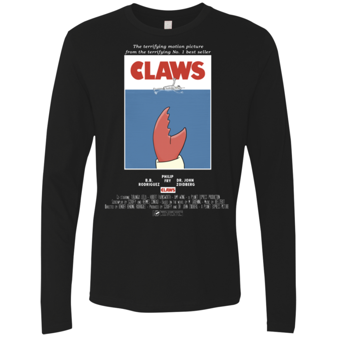 Claws Movie Poster Men s Premium Long Sleeve
