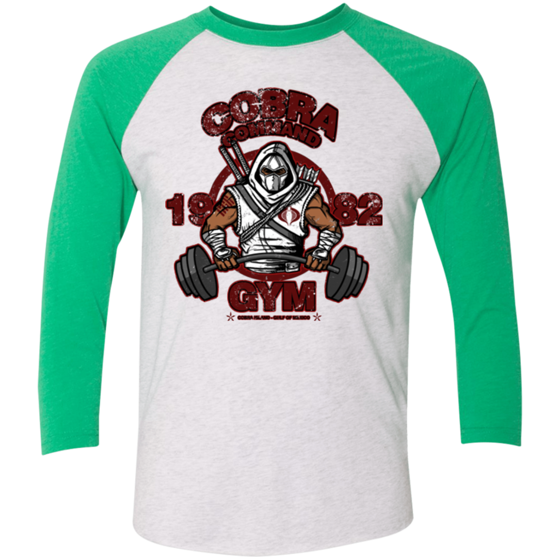 Cobra Command Gym Triblend 3 4 Sleeve