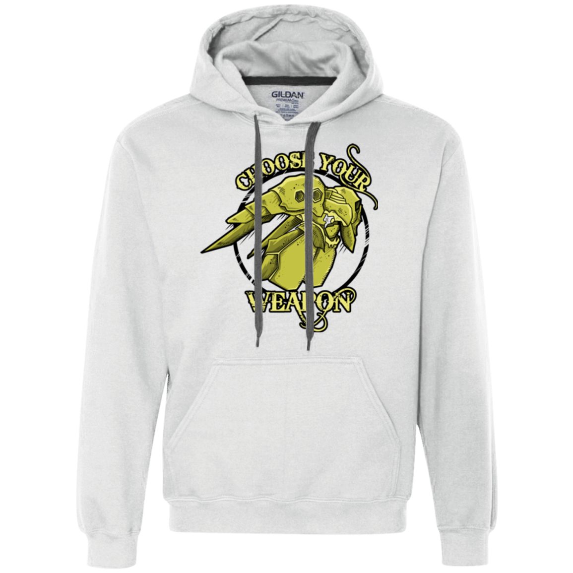 CHOOSE YOUR WEAPON Premium Fleece Hoodie