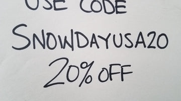 SNOW DAY SALE !