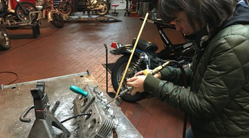Moto Velocita-- Making a mark for female mechanics