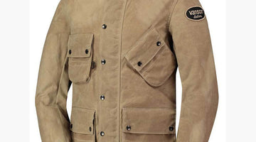 Vanson Waxed Cotton Jackets : Leather Alternative