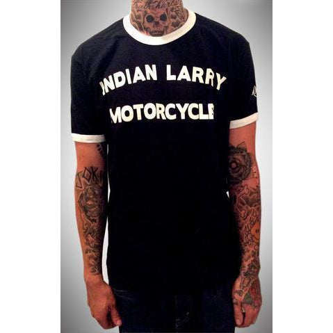 Indian Larry Block Ringer Tee