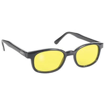 KD X- Black Frame, Yellow Lens