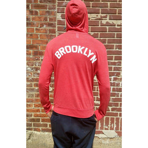 Brooklyn Sweater Full Zip Lightweight Sweatshirt