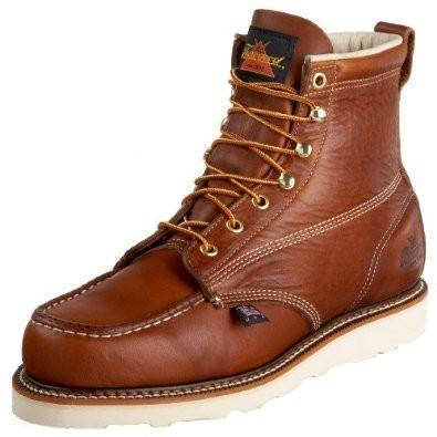 "Thorogood 6"" Moc Toe Side Profile"