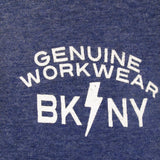 Genuine Workwear Lightning Tee, Heather Blue