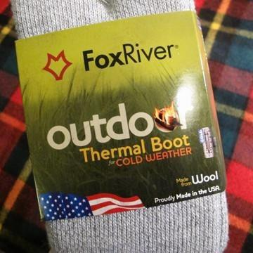 Outdoor Thermal Boot Sock - Grey
