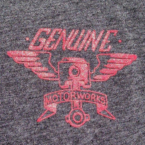 Genuine Motorworks Heather Grey Tee