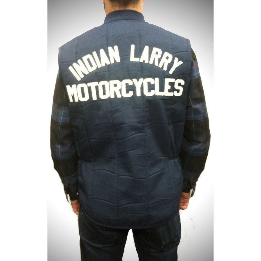Indian Larry Motorcycles Quilted  Work Vest