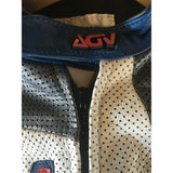 Vintage AGV Women's Racing Suit, White