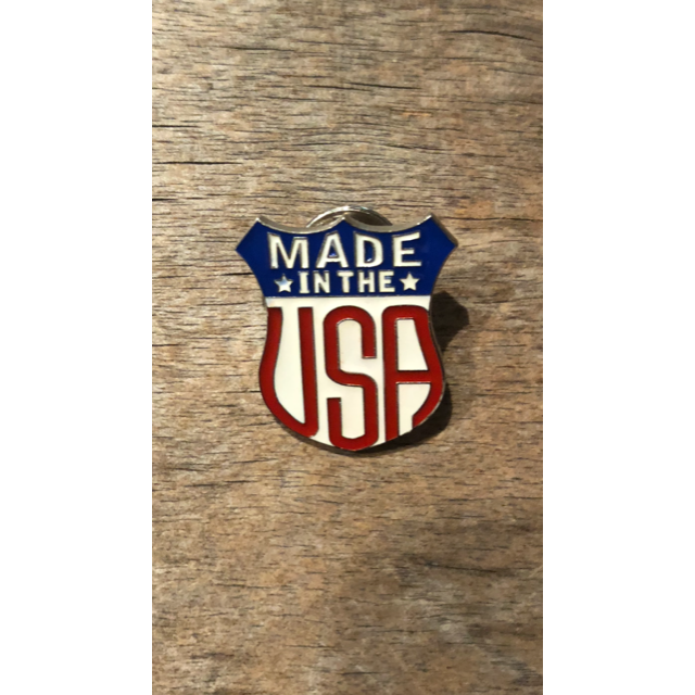 Made in the USA Enamel Pin