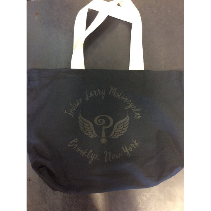 Indian Larry Black Tote Bag