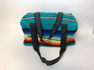 Serape Blanket Overnight Bag