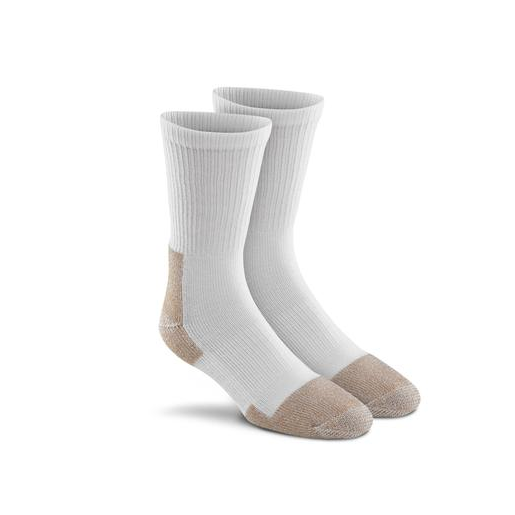 Steel-Toe 2PK Crew Socks