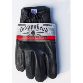 Choppahead Defender Gloves - Kevlar Lined - Black