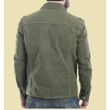 Vanson Garage Jacket - Olive