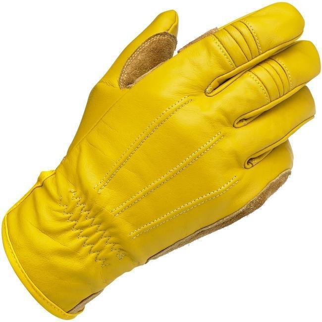 Biltwell Work Gloves in Gold