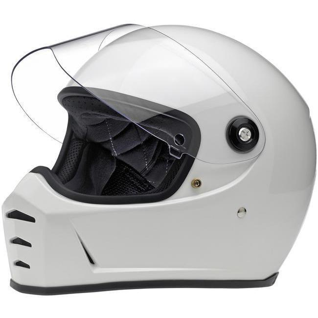 Biltwell Lane Splitter Helmet, Gloss White