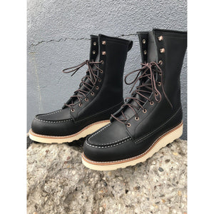 "Red Wing Ladies 8"" Moc Toe Boot, Black 3424"