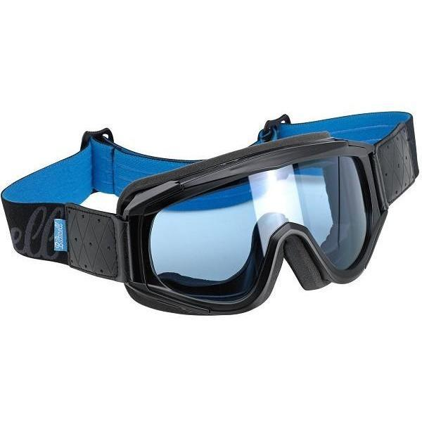 Biltwell Overland Goggle, Blue and Black