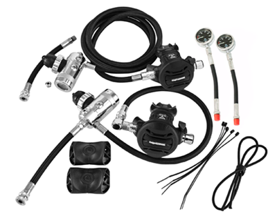 Sidemount Regulator Set