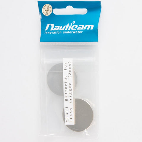 Batteries For Flash Trigger (2pcs)